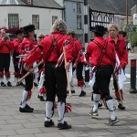 Morris Dancing at Folk Festival - photo