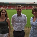 Cheltenham Town Football Club advertising deal with www.glos.info