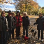Walk and Talk: weekly Sunday morning walks in Pittville Park