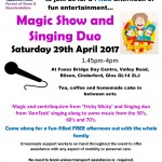 Magic Show and Singing Duo