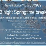 3 Night Springtime Break - Travel Inclusive Trip to Jersey