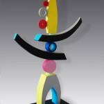 Colourful Sculpture by Patricia Volk