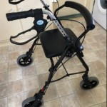 FOR SALE: Mobility trolley with seat and detachable basket - £69.99