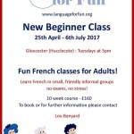 French for Fun - New Beginner Class