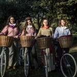 Lean, green bicycle-powered Shakespeare visits Painswick