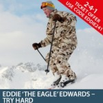 2-4-1 Offer - Eddie 'The Eagle' Edwards