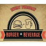 Tuesdays: £10 Burger + Beverage