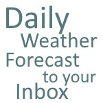 Daily Weather Forecast for Gloucestershire to your Inbox