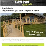 Cotswold Farm Park Campsite - SPECIAL OFFER