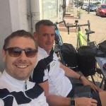 Charity riders gear up from Göttingen to Cheltenham!