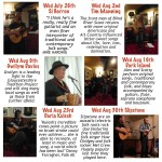 Folk/Acoustic Music at The Carpenter's Arms, Miserden in High Summer