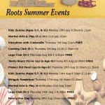 Roots Summer Events