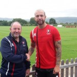 Jordon Forster signs for the Robins