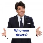 Winner of the Michael McIntyre ticket competition announced
