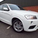 BMW X3 2.0 XDRIVE20d M SPORT, FULL HEATED LEATHER+LONG MOT+FBSH - 2011 (11 plate)