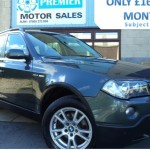 2007 BMW X3 2.0D SE MANUAL, FULL LEATHER, PARKING SENSORS, CRUISE. - £5,795