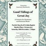 Good Tidings of Great Joy, A Christmas Cantata and Seasonal Music