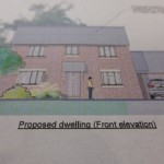 PLOT – TEWKESBURY ROAD - £150,000