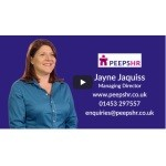 30 Second video - Jayne Jaquiss of Peeps HR, Gloucester