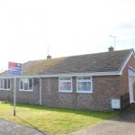 2 bed semi-detached bungalow for sale in Harpfield Road, Bishops Cleeve GL52 - £255,000