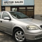 2000 (W) VAUXHALL ASTRA 1.6i 16v SXi, PART EXCHANGE TO CLEAR!!! - £395