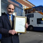 David is Stagecoach West's safest driver in Gloucester