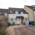 2 bed terraced house for sale in The Old Common, Chalford, Stroud GL6 - £160,000