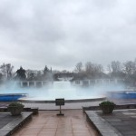 Pictures of the Sandford Parks lido opening for 2018