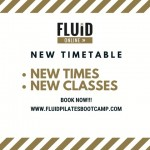 Fluid Pilates Bootcamp - Expect to Sweat!