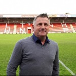 Andy Wilcox named new chairman of Cheltenham Town Football Club and new signing Johnny Mullins announced