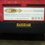 COMPETITION: SPOT THE www.GlosJobs.co.uk BUS BANNER AND WIN £50 IN CASH!!!