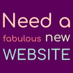 We build your website for you - starting at £120+vat including hosting