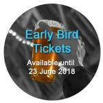 "Last chance to buy ""early bird"" discounted tickets"