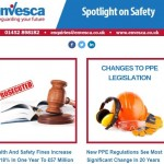 Huge Increase In Health and Safety Fines, New PPE Regultions and Proposed New Government Legislation