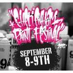 Cheltenham Paint Festival 2018 - Bringing high quality street art from leading national and international artists to the town centre