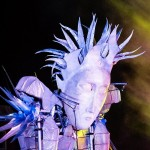 Cheltenham Christmas Lights switch-on - A giant White Witch puppet standing more than 16 feet high will join the parade