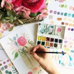 Introduction to Watercolours Workshop: Marylebone