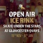 Open Air Ice Rink at Gloucester Quays