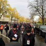 Cheltenham Remembers Memorial March on 10th November 2018