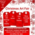 Christmas Art Fair and save 10% with this invite!