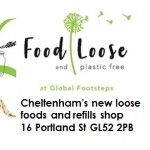 Food Loose and Plastic Free at Global Footsteps NOW OPEN