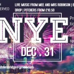 New Years Eve Live Music From Mee and Mrs Robinson