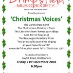 COMPETITION: Win two pairs of tickets for Brimpsfield Music Society 'Christmas Voices'