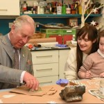 HRH The Prince of Wales brings smiles to Gloucestershire hospice with special visit