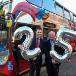 Bus company celebrates 25 years of silver service for its customers