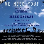Two 10 Casting NEED YOU! Extras required for Sam Mendes film!