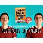James Crawley – 'Adventures in Comedy' Show & Book Launch