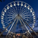 Giant Observation Wheel, landmark buildings lit up, illuminated acts - Light Up Cheltenham is back with a bang