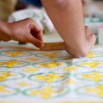 Learn the art of block printing with Molly Mahon: Cotswolds