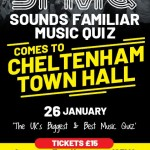 COMPETITION: Win a group of four ticket to Sounds Familiar Music Quiz at Cheltenham Town Hall!